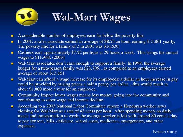Wal-Mart Wages