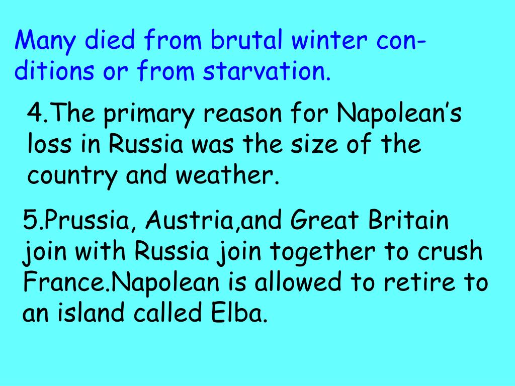 Many died from brutal winter con- ditions or from starvation.