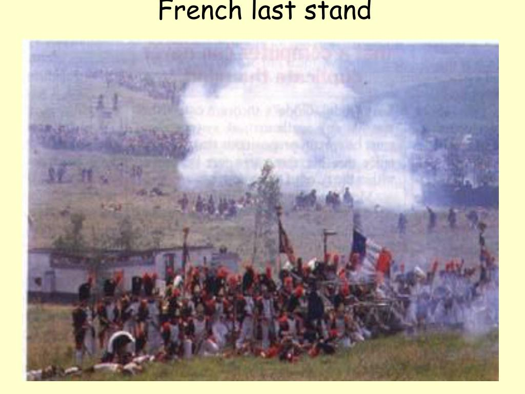 French last stand