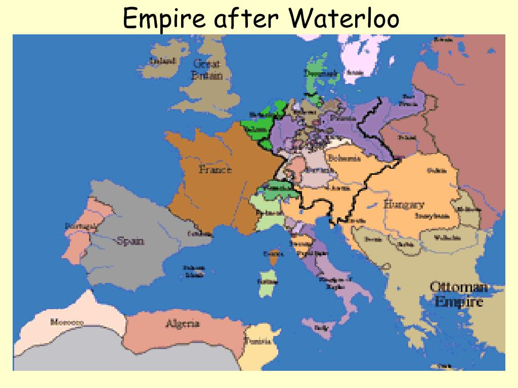 Empire after Waterloo