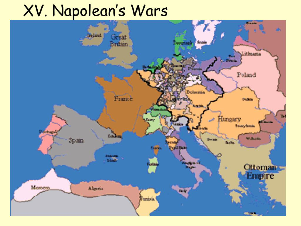 XV. Napolean's Wars