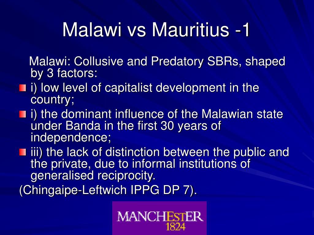 Malawi vs Mauritius -1
