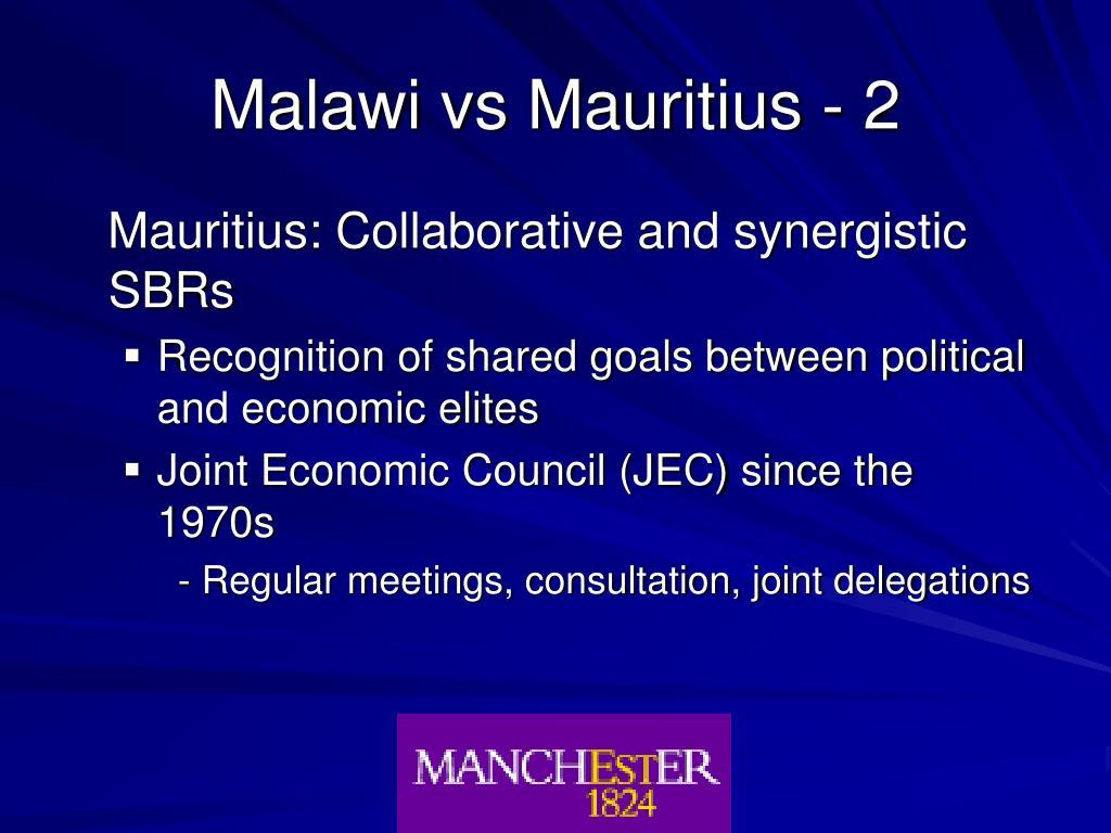 Malawi vs Mauritius - 2