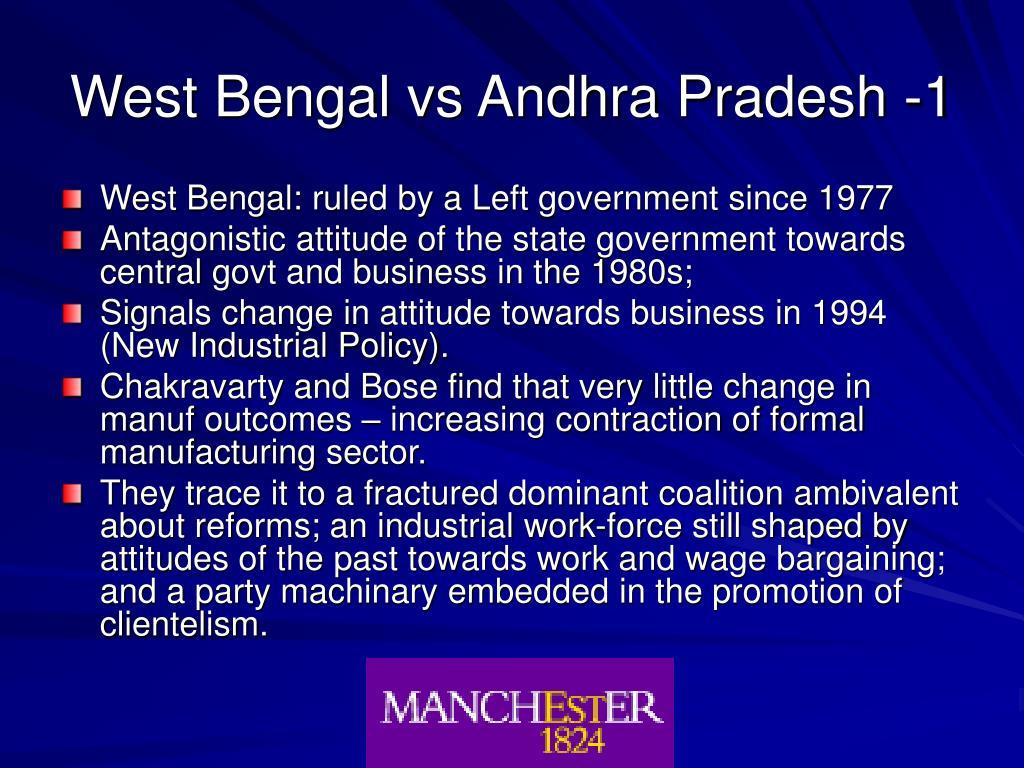 West Bengal vs Andhra Pradesh -1