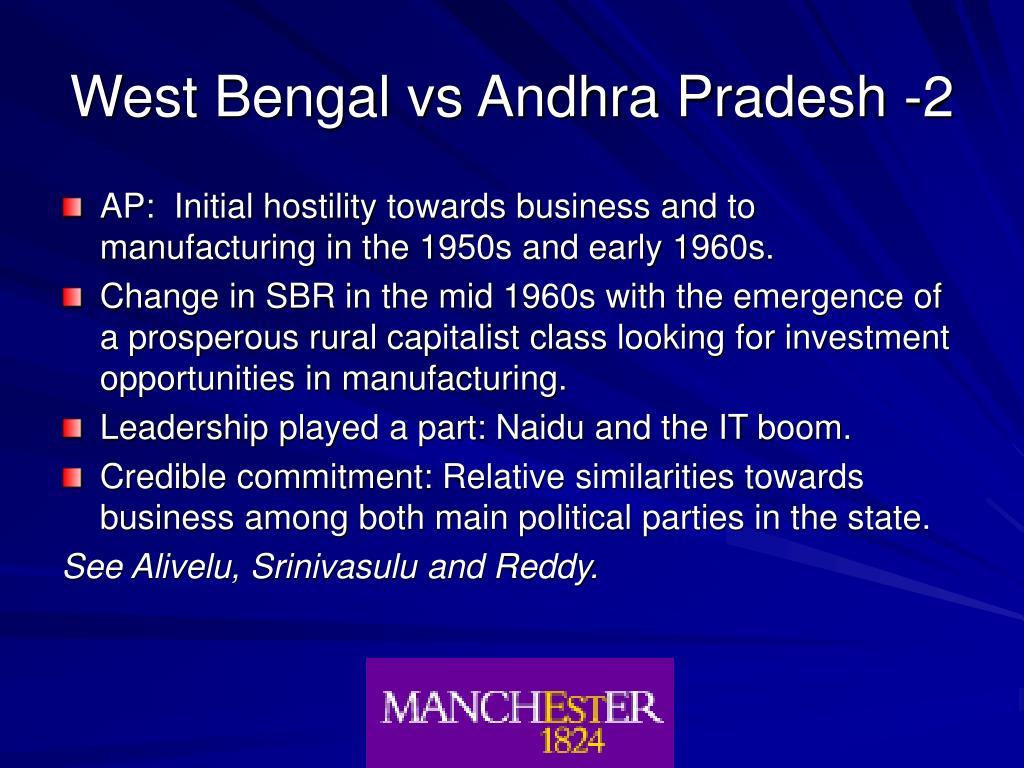 West Bengal vs Andhra Pradesh -2