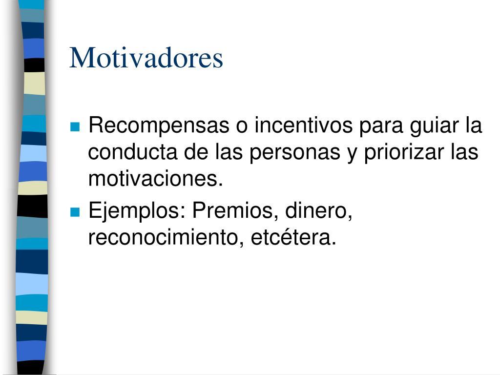 Motivadores