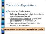 teor a de las expectativas34