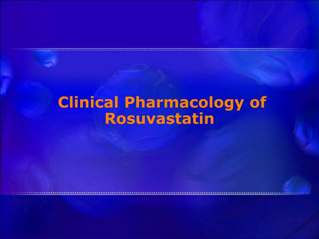 Clinical Pharmacology of Rosuvastatin