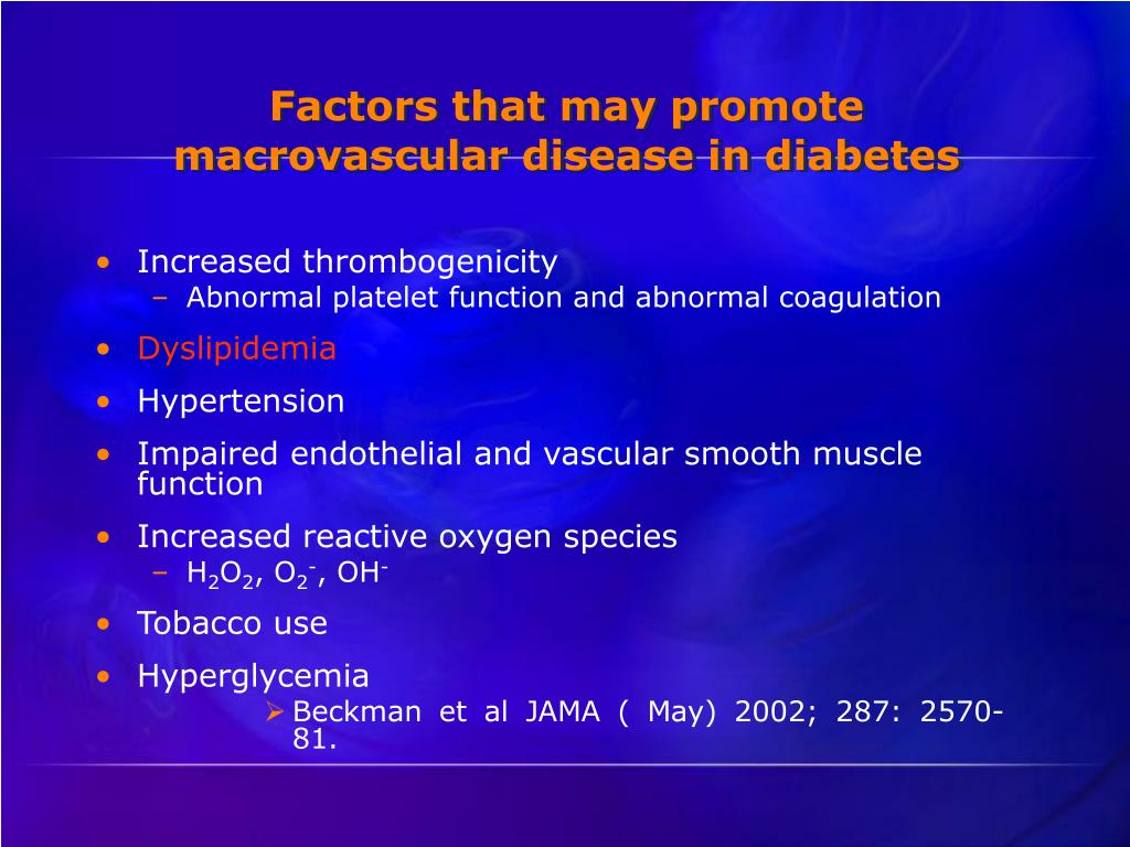 Increased thrombogenicity