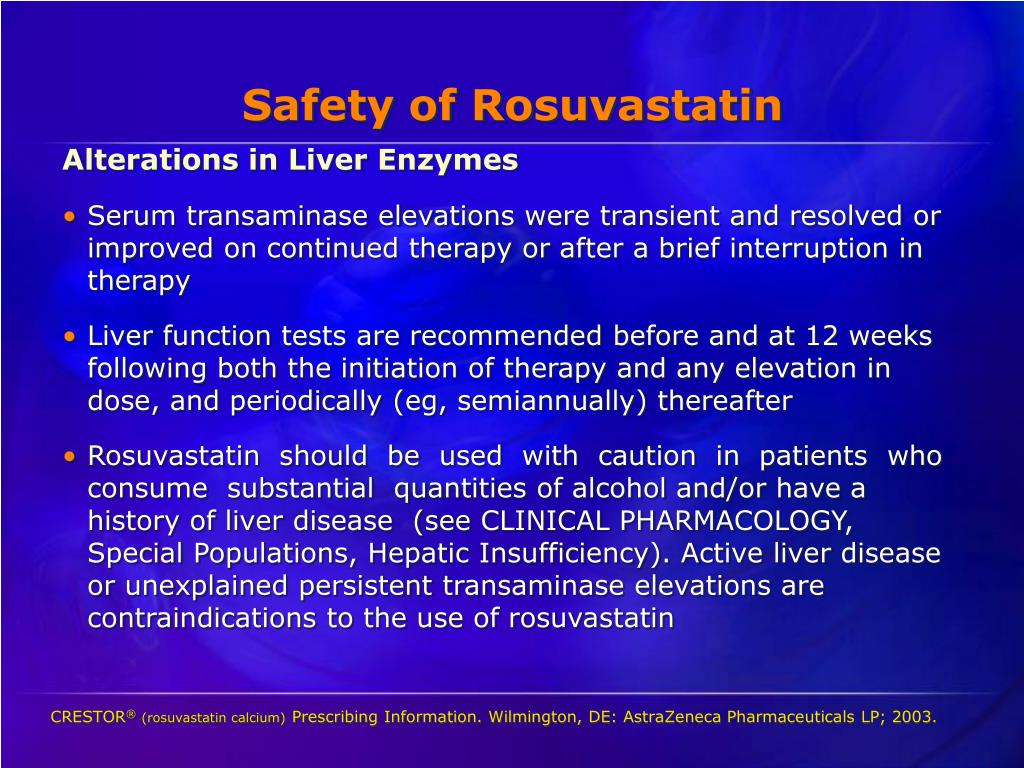 Safety of Rosuvastatin