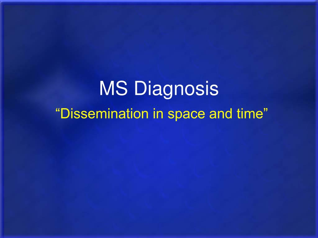 MS Diagnosis