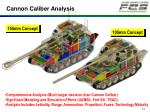 cannon caliber analysis