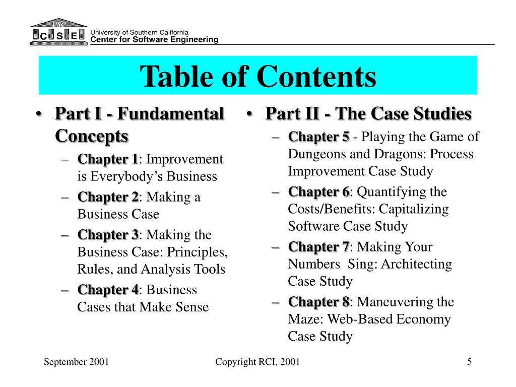 Part I - Fundamental Concepts