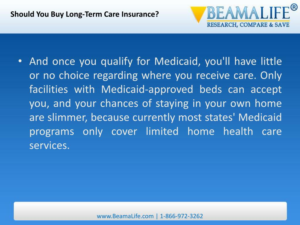 Should You Buy Long-Term Care Insurance?