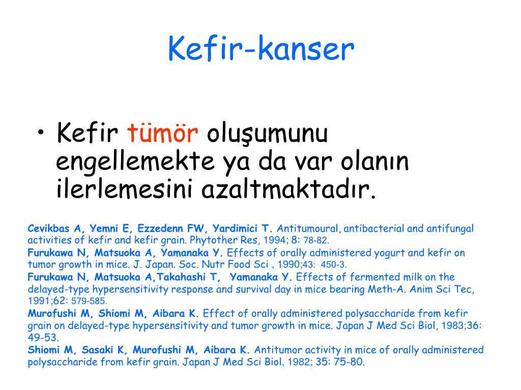 Kefir-kanser
