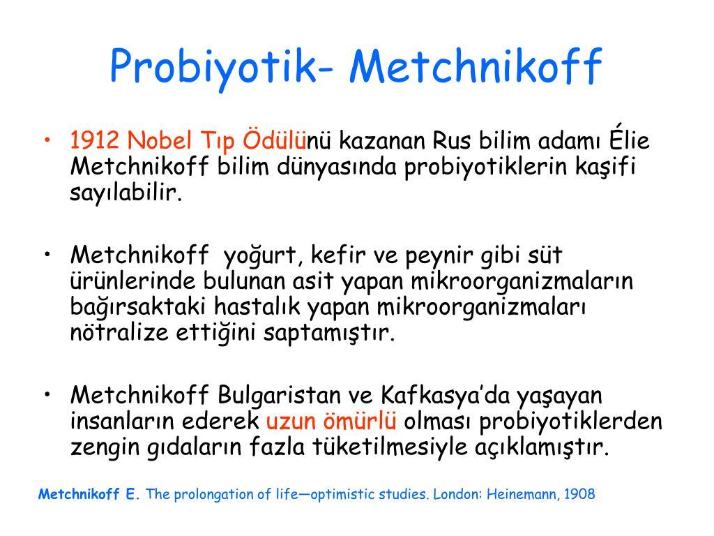 Probiyotik-