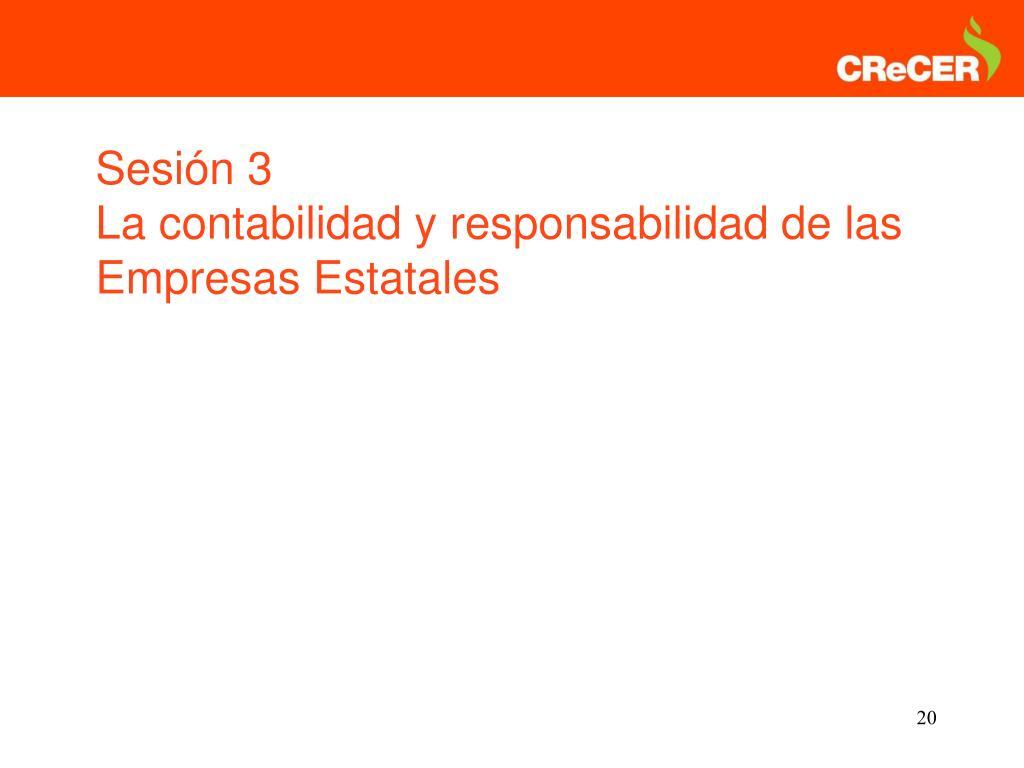 Sesión 3