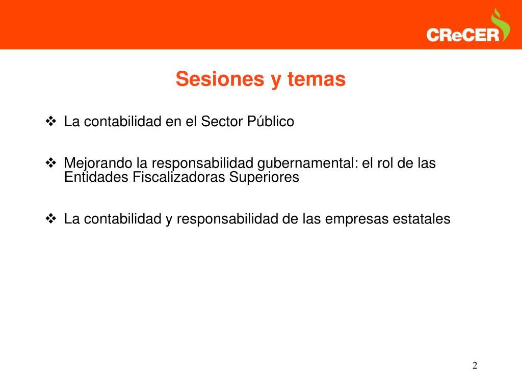 La contabilidad en el Sector Público