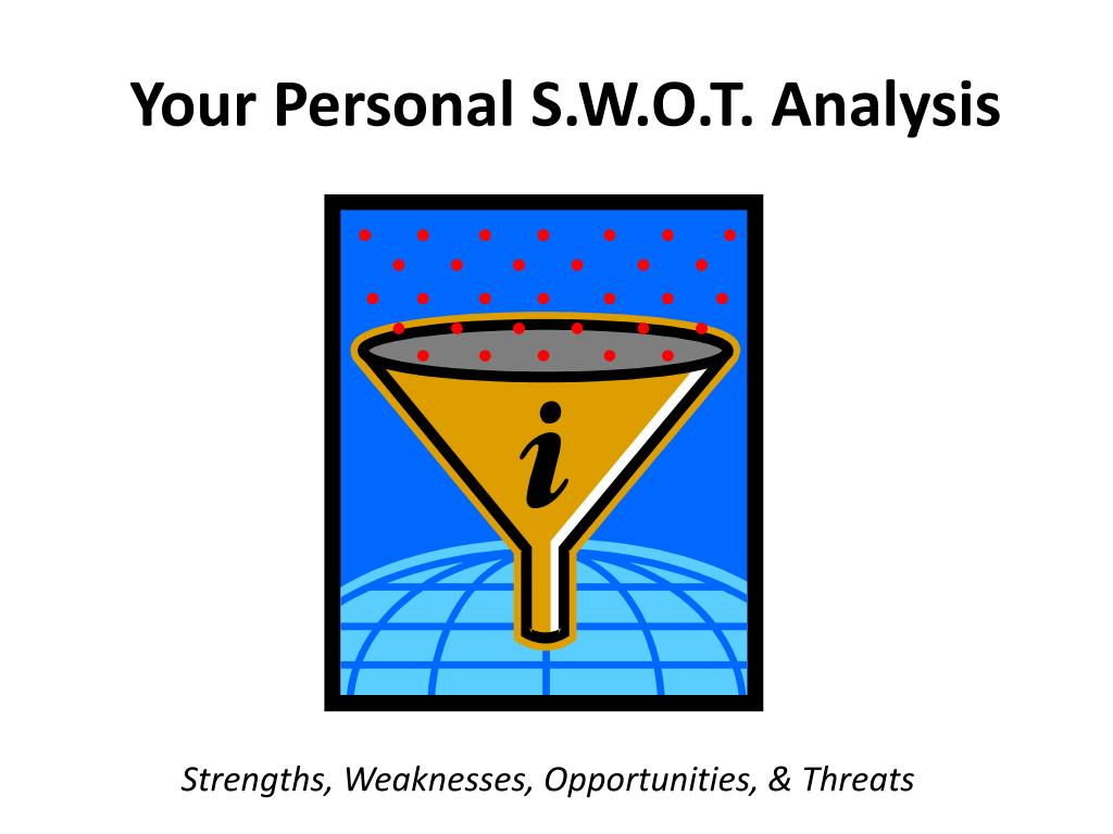 Your Personal S.W.O.T. Analysis