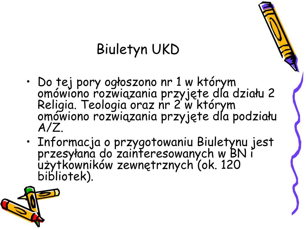 Biuletyn UKD
