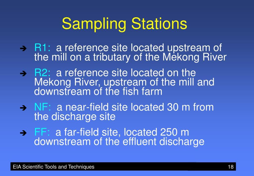 Sampling Stations