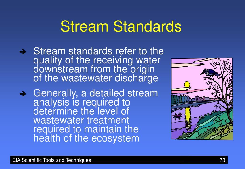 Stream Standards