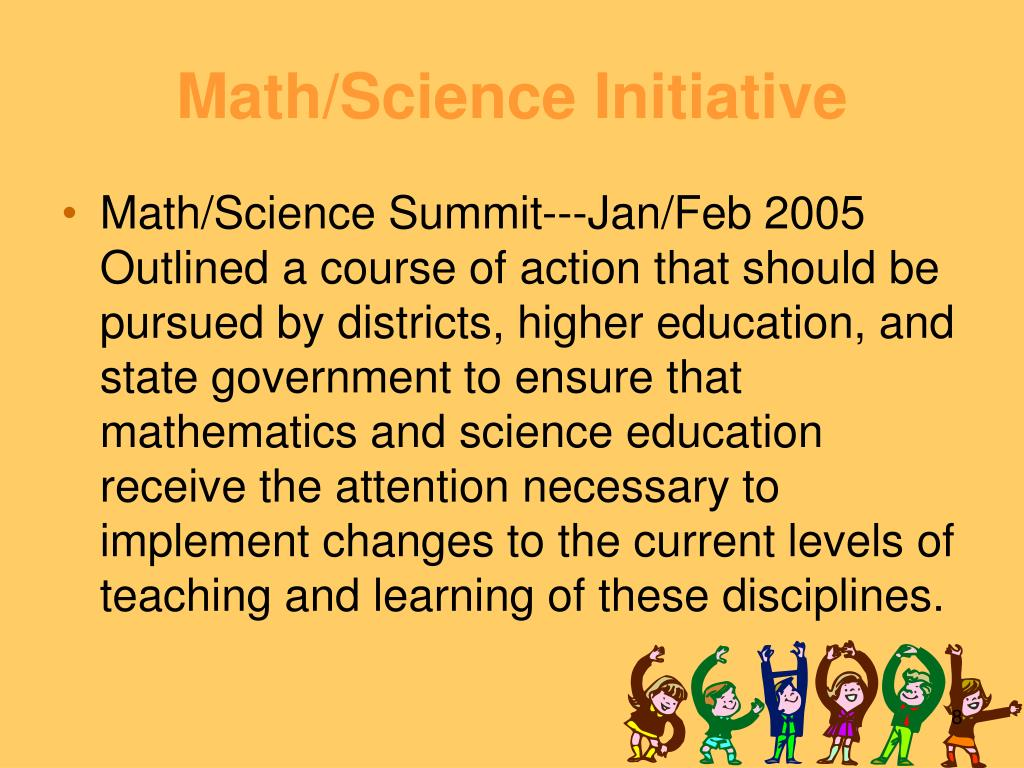 Math/Science Initiative