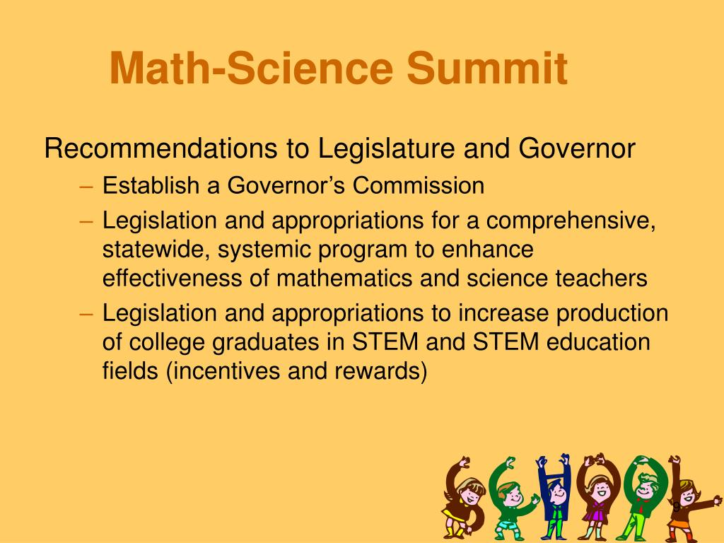Math-Science Summit