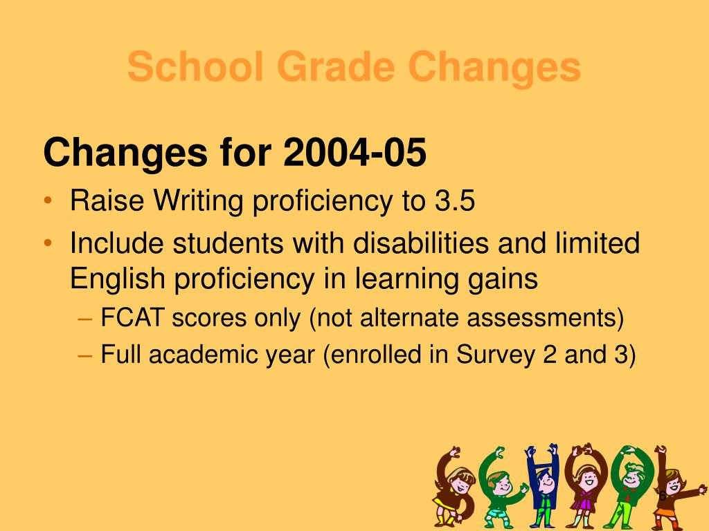 School Grade Changes