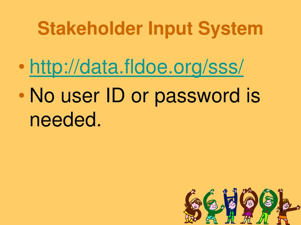 Stakeholder Input System