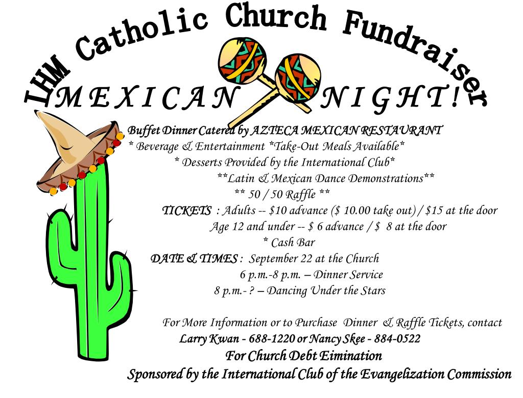 IHM Catholic Church Fundraiser