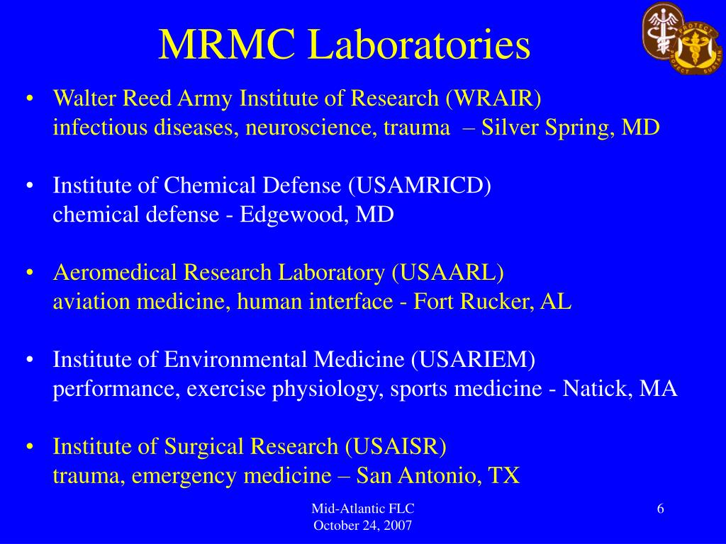 MRMC Laboratories
