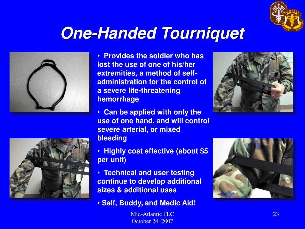 One-Handed Tourniquet
