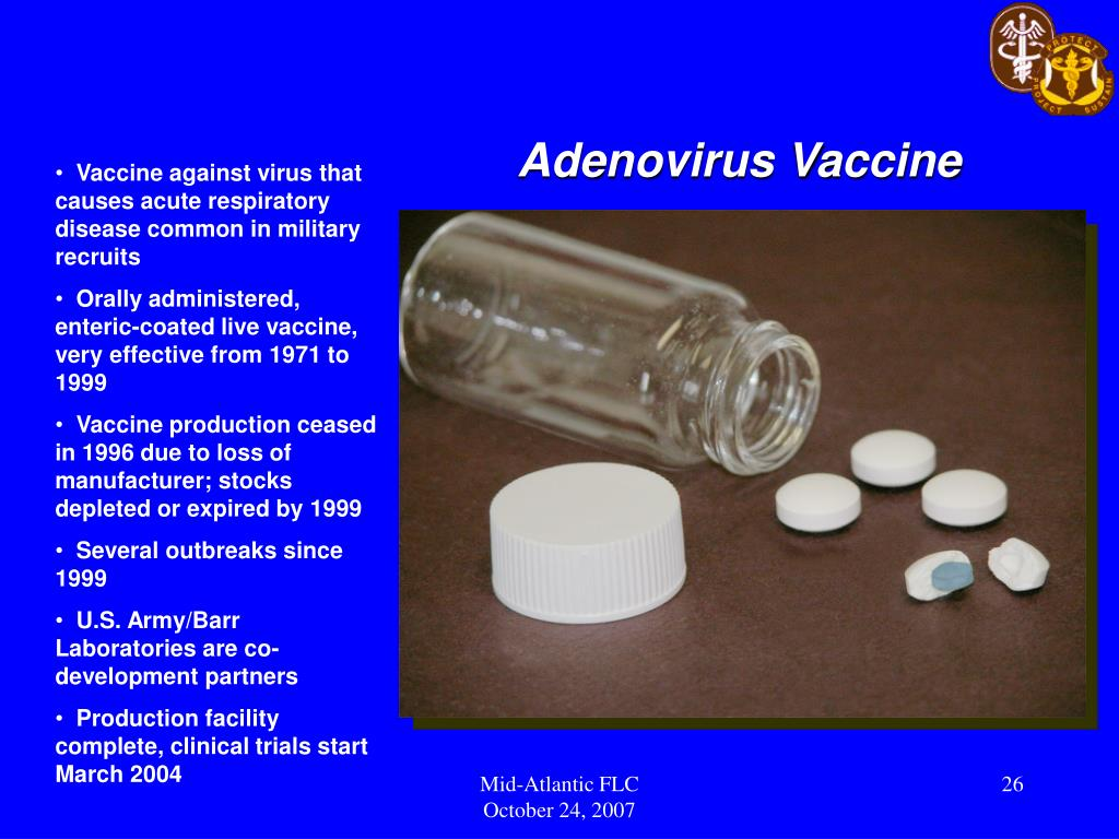 Adenovirus Vaccine