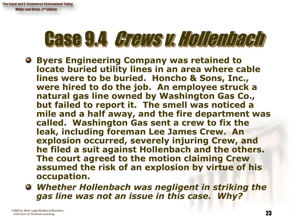 Case 9.4