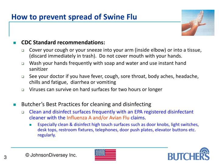 How to prevent spread of Swine Flu