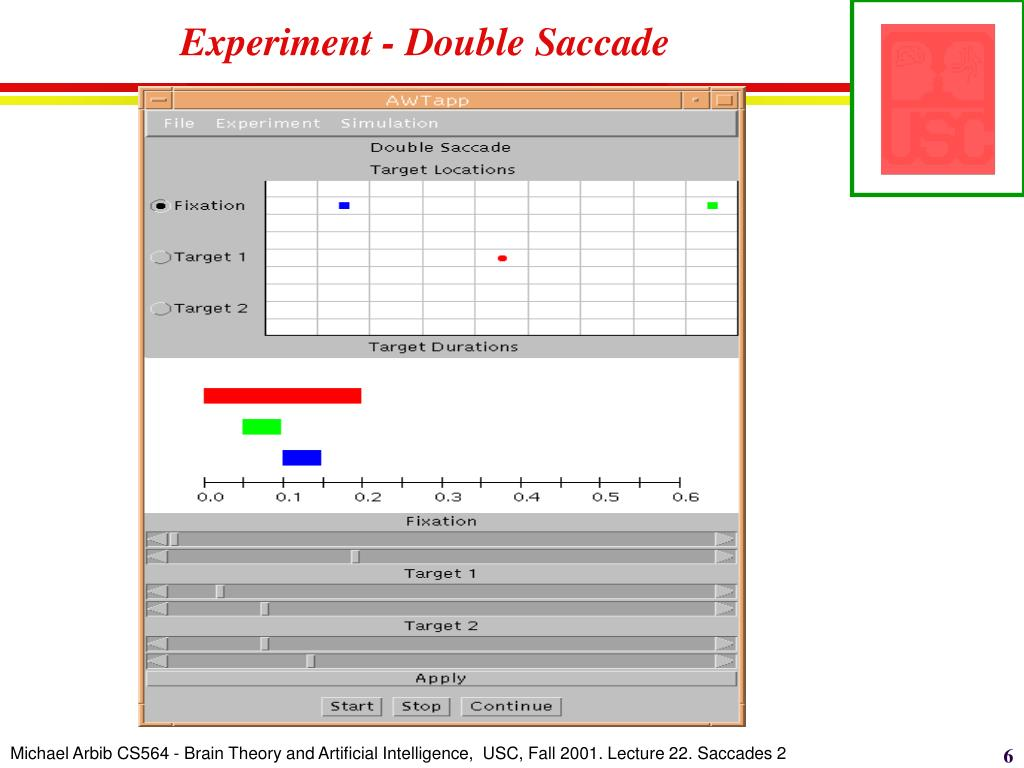 Experiment - Double Saccade