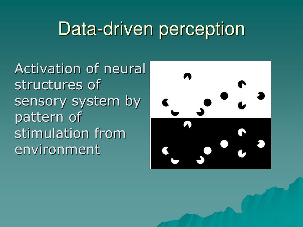 Data-driven perception