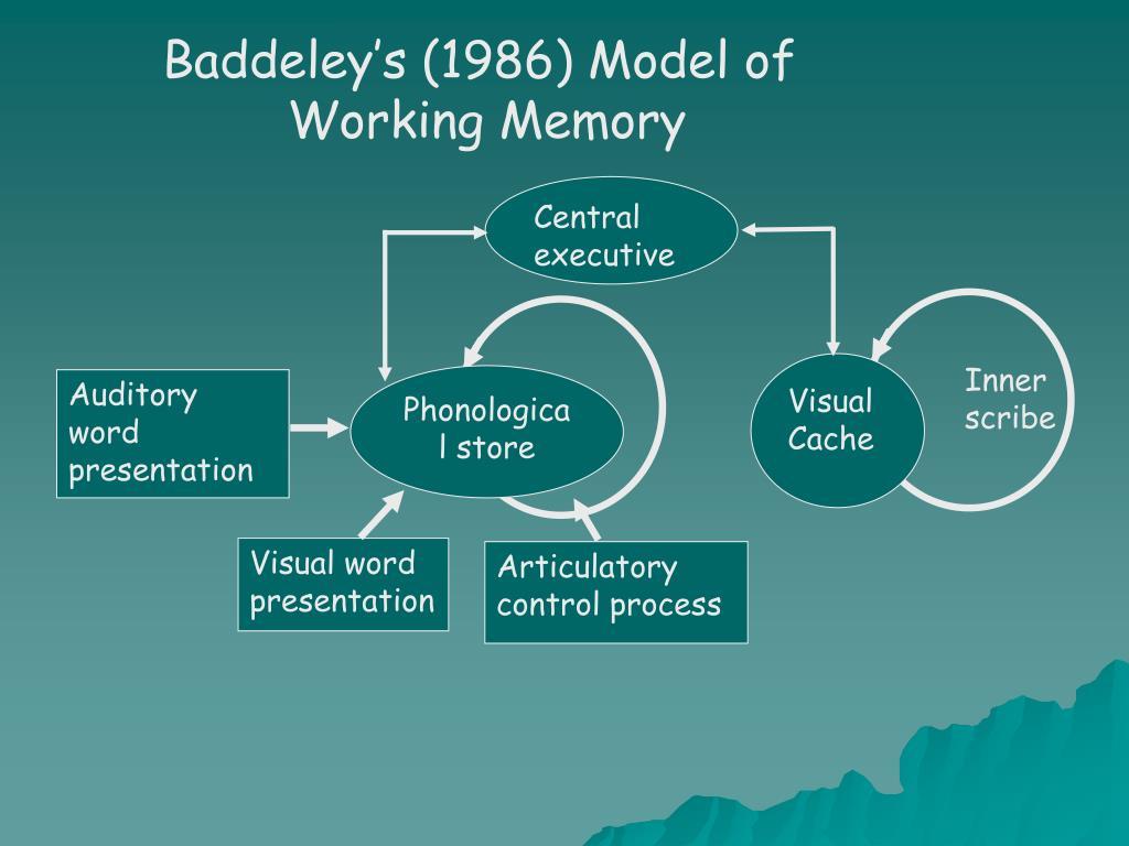 Baddeley's (1986) Model of