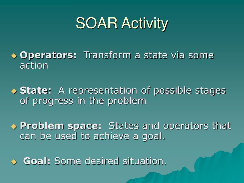 SOAR Activity
