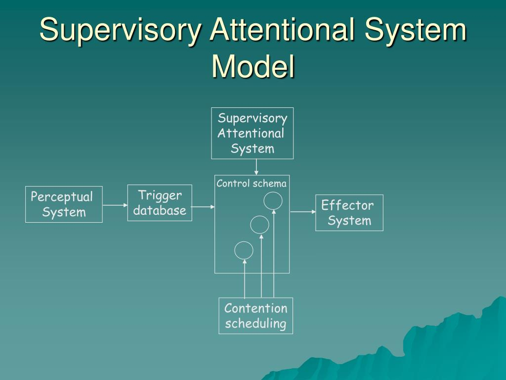 Supervisory Attentional System Model