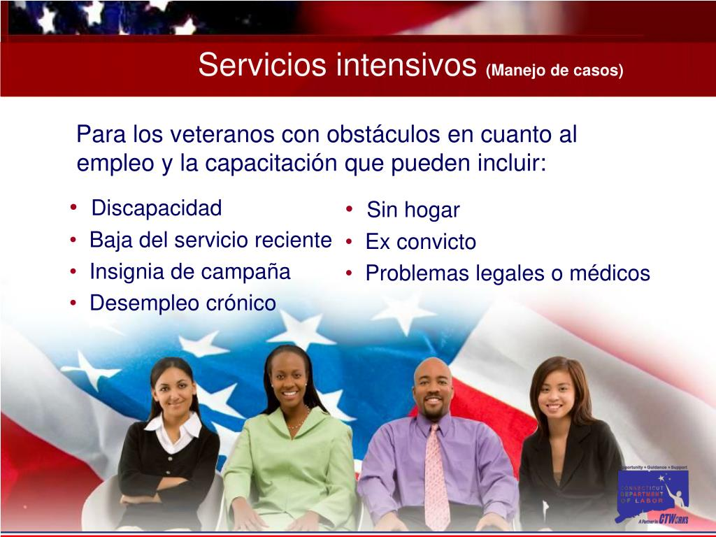 Servicios intensivos