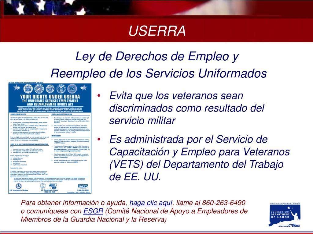 Ley de Derechos de Empleo y