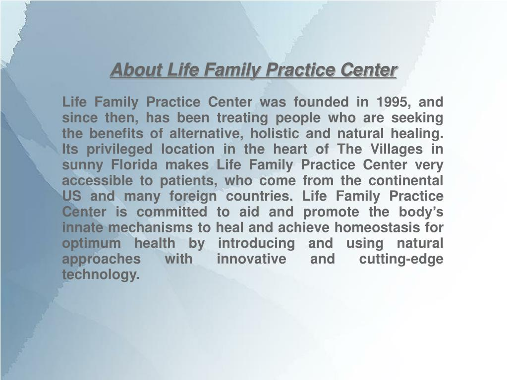 About Life Family Practice Center