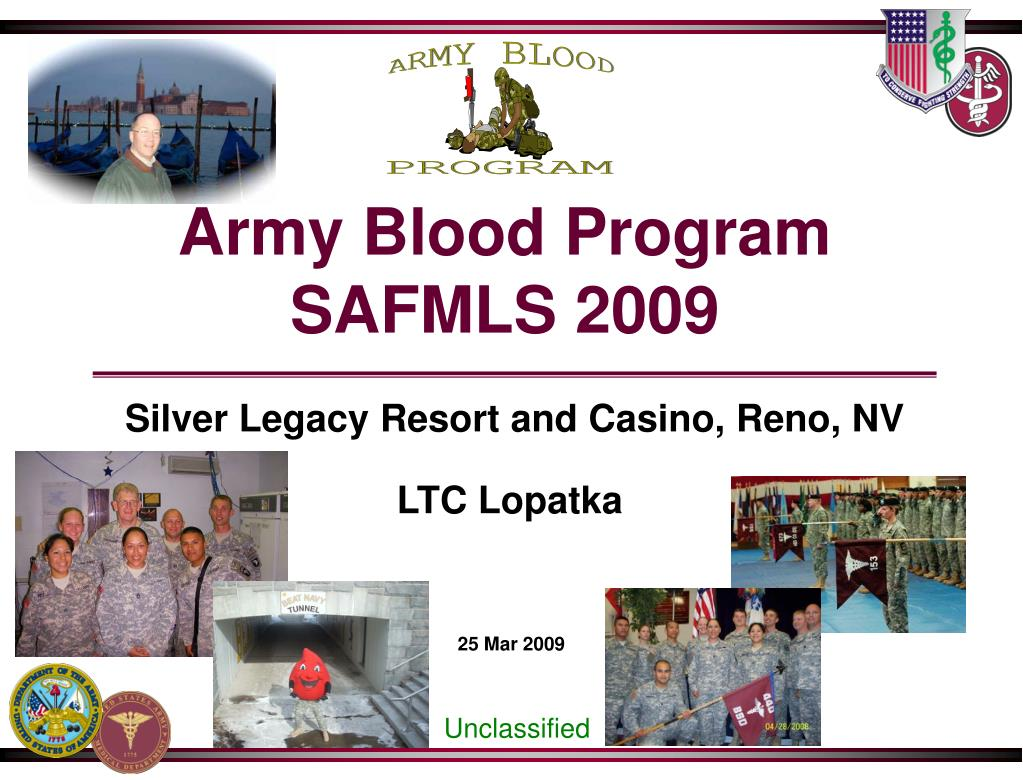 Army Blood Program