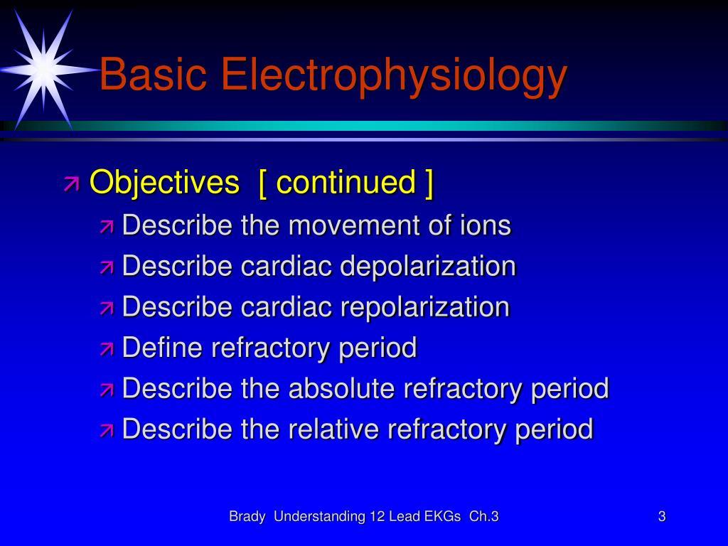 Basic Electrophysiology