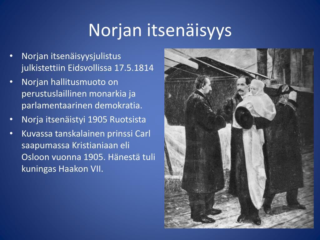 Norjan itsenäisyys