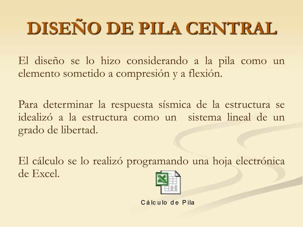 DISEÑO DE PILA CENTRAL