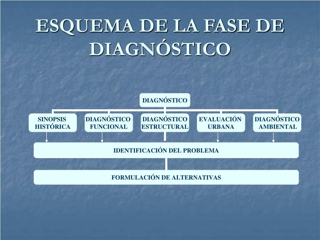 ESQUEMA DE LA FASE DE DIAGNÓSTICO