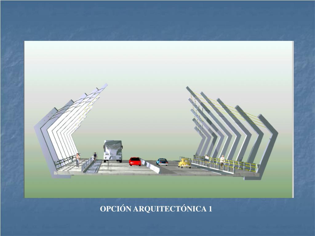 OPCIÓN ARQUITECTÓNICA 1